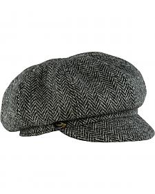 Stormy Kromer Women's Harris Tweed The Gatsby Cap