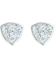 Montana Silversmiths Women's Treasured Trillion Sparkling Earrings