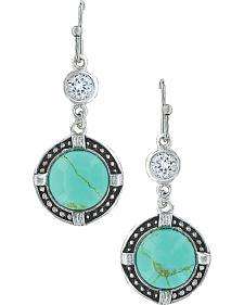 Montana Silversmiths Women's True North Turquoise Earrings