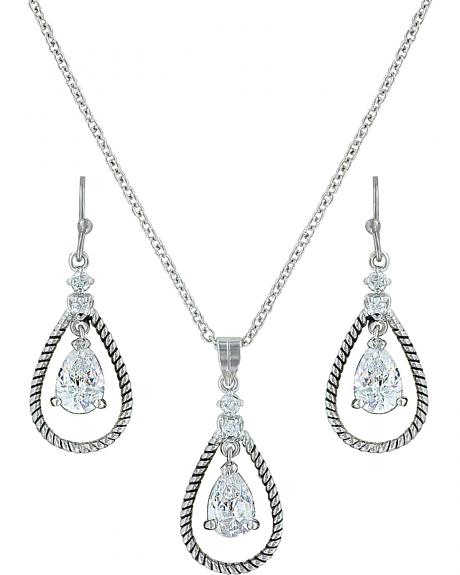 Montana Silversmiths Catch the Rain Jewelry Set