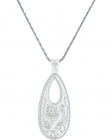 Montana Silversmiths Women's Winter's Forever Basket Necklace