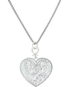 Montana Silversmiths True Western Heart Necklace