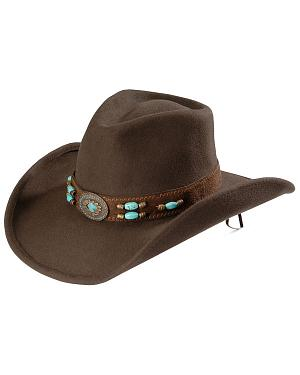 Bullhide Jewel of the West Wool Cowgirl Hat