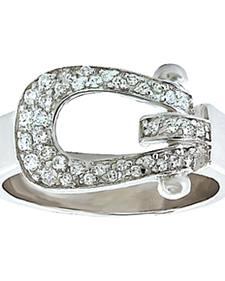 Montana Silversmiths Women's Stunning Stirrup Ring