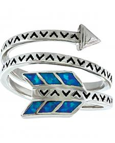 Montana Silversmiths Women's Sky Fletched Arrow Ring