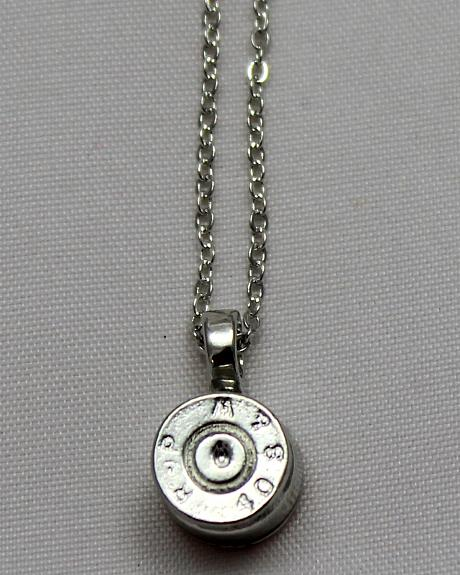 SouthLife Supply Women's Dolly Bullet Pendant in Traditional Silver
