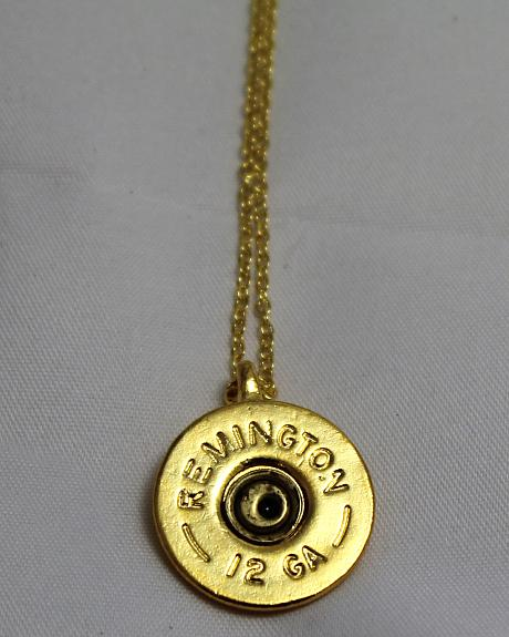 SouthLife Supply Oakley Shotshell Pendant in Traditional Gold