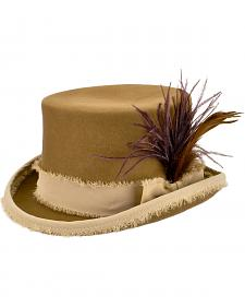 Renegade by Bailey Women's Tan Vivienne Top Hat