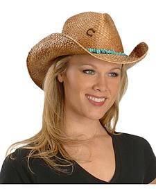 Charlie 1 Horse Tulum Straw Cowboy Hat