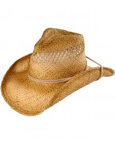 Shady Brady Pinch Front Straw Cowboy Hat