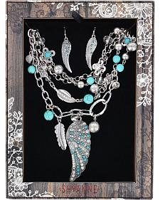 Shyanne Women's Turquoise Wings Jewelry Set
