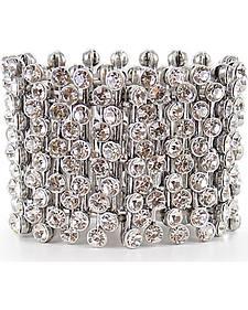Shyanne Women's Bling Stretch Bracelet