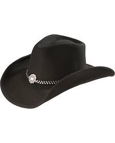 Bullhide Concho Wool Cowgirl Hat