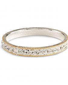 Montana Silversmiths Cubic Zirconia Bangle Bracelet