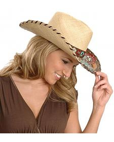 Bullhide Gypsy Queen Straw Cowgirl Hat