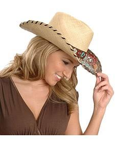 Bullhide Gypsy Queen Straw Cowgirl Hat