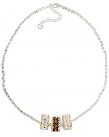 Montana Silversmiths Triple Charm Rope Necklace