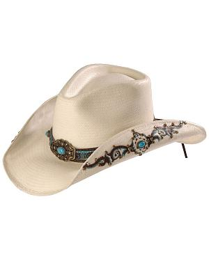 Bullhide Sweet Seduction Straw Cowgirl Hat