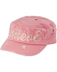 Pink Believe Fashion Cap