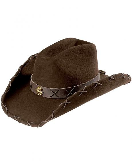 Scala Women's Cattleman Wool Felt Hat