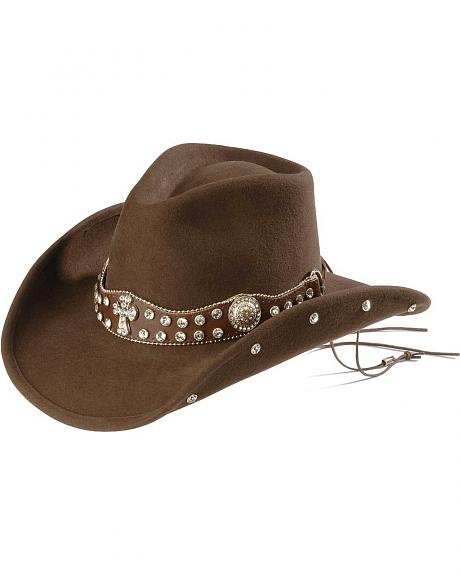 Bullhide Moment for Life Bling Cross Concho Cowboy Hat