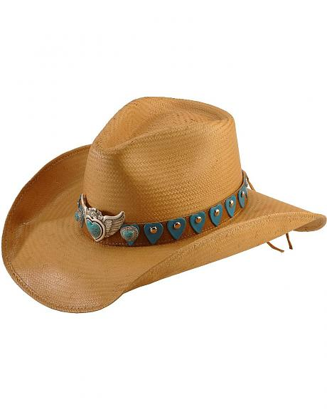 Bullhide River of Love Straw Cowgirl Hat