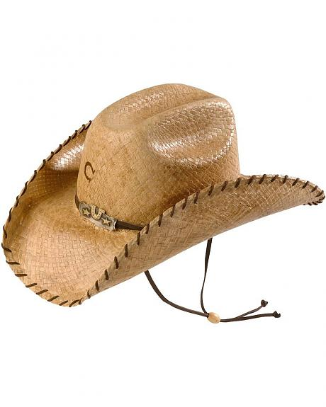 Charlie 1 Horse Leave Your Mark Raffia Straw Cowgirl Hat
