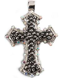 Bling Cross Pendant at Sheplers