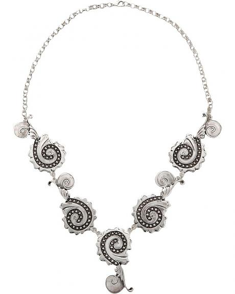Montana Silversmiths Chunky Scroll Necklace