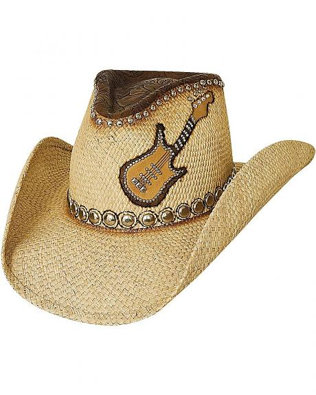Bullhide Country Rock Panama Straw Cowgirl Hat