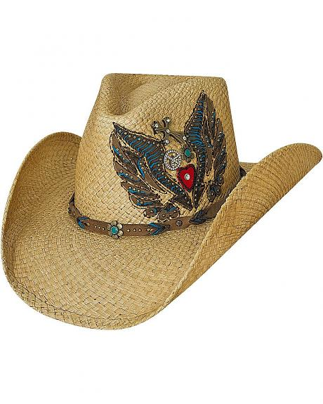 Bullhide Take It Easy Panama Straw Cowgirl Hat