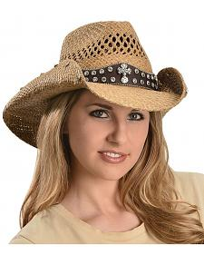 Bullhide More Than Words Panama Straw Cowgirl Hat
