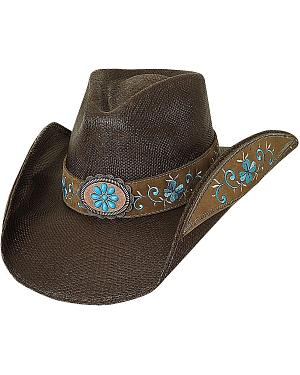 Bullhide Forever Young Bangora Straw Cowgirl Hat