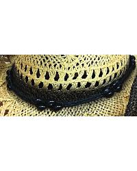 Bullhide Scorched Black Toyo Straw Hat at Sheplers