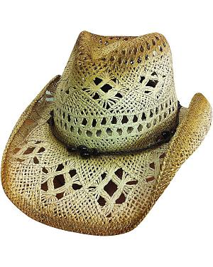 Bullhide Scorched Toyo Straw Hat