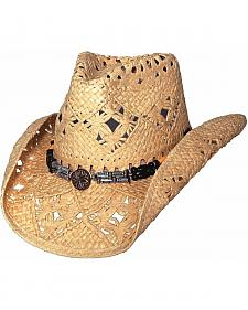 Bullhide All Summer Long Toyo Straw Cowgirl Hat