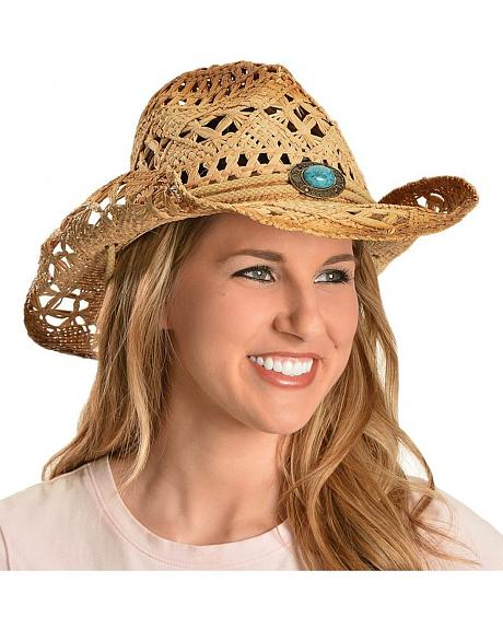 Bullhide Lost In Love Toyo Straw Cowgirl Hat