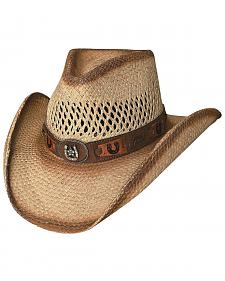 Bullhide Lucky Strike Panama Straw Cowgirl Hat