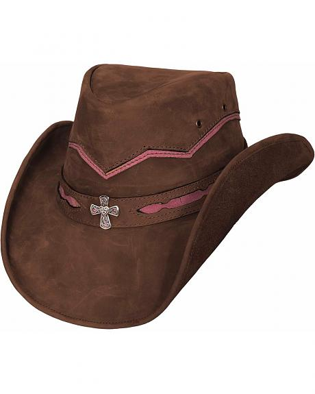 Bullhide Serenity Leather Cowgirl Hat