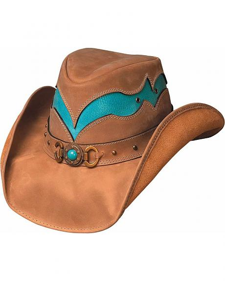 Bullhide Cascade Range Leather Cowgirl Hat