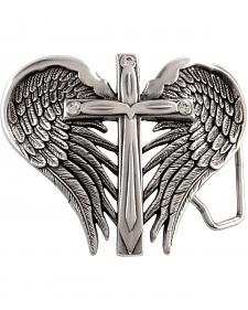 Nocona Cross & Wings Buckle