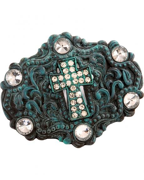 Nocona Fancy Antiqued & Tarnished Buckle