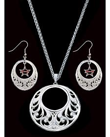 Montana Silversmiths PBR Necklace Set
