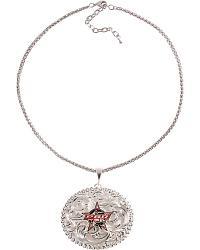 Montana Silversmiths PBR Filigree Necklace at Sheplers