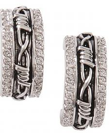 Montana Silversmiths Vintage Charm Cuff Earrings