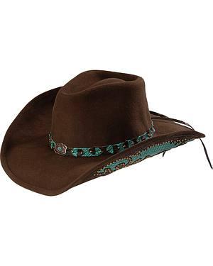 Bullhide Natural Beauty Premium Wool Cowgirl Hat