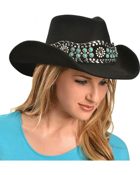 Bullhide Rhythm Of The Night Premium Wool Cowgirl Hat