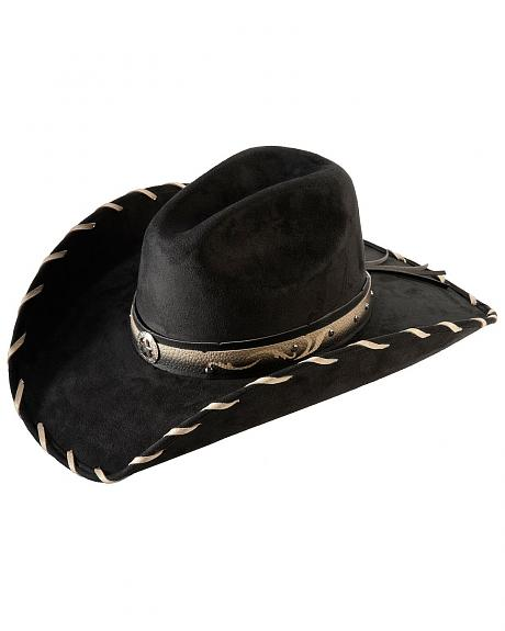 Bullhide Straight Shooter Faux Felt Cowgirl Hat