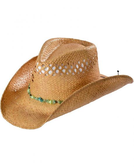 Charlie 1 Horse Lagoon Straw Cowgirl Hat