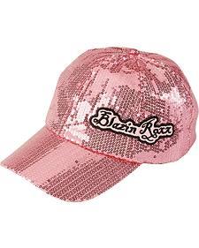 Blazin Roxx Pink Sequin Cap